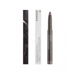 Korres Volcanic Minerals Twist Eyeshadow No. 33 Grey Brown, 1.4 gr