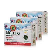 MOLLER'S - PROMO PACK 3 TEMAXIA Moller's Forte Omega 3 - 150caps