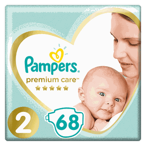 Pampers no2 68panes