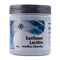 VIOGENESIS SUNFLOWER LECITHIN POWDER 300GR