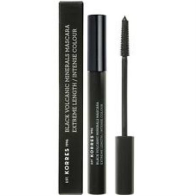KORRES - BLACK VOLCANIC MINERALS Mascara Extreme Length Intense Colour Black 01 - 7.5ml