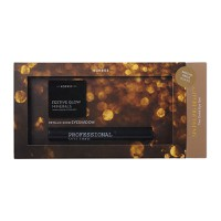 Korres Sparkling Beauty Colour Set Με Μαύρη Μάσκαρα& Σκιά Χρυσή Metallic Festive Glow Minerals