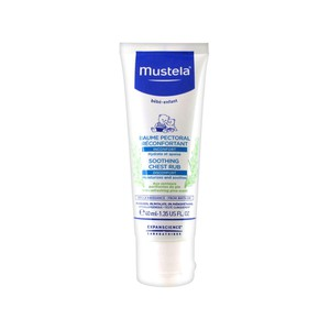 Mustela shoothing chest rub 40ml