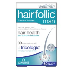 Vitabiotics Hairfolic Men 60tabs