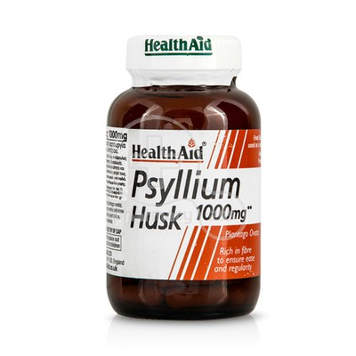 HEALTH AID -  Psyllium Husk 1000mg - 60caps