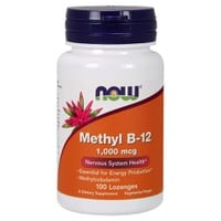 NOW METHYL B-12 1000MCG METHYLCOBALAMIN  100 LOZENGES