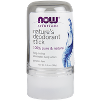 NOW NATURE'S DEODORANT STICK (STONE) 3.5OZ. (99GR)