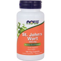 NOW ST.JOHN'S WORT 300MG 100VEG. CAPS