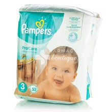 Pampers No.3 (5-9kg) - ProCare, 32τμχ