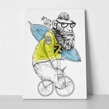 Bicycle bear illustration 353184512 a