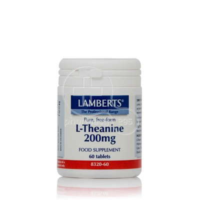 LAMBERTS - L-Theanine 200mg - 60tabs