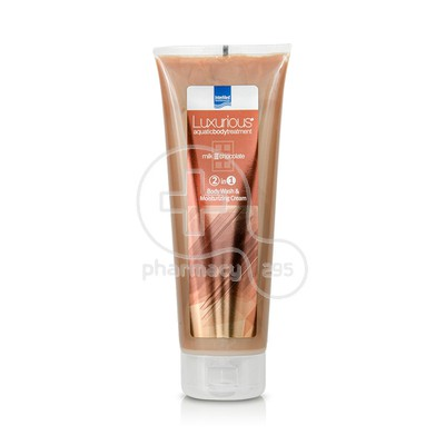 INTERMED - LUXURIOUS AQUATIC BODY TREATMENT Body Wash & Moisturizing Cream Milk Chocolate - 250ml
