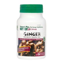 Nature's Plus, Ginger 250mg, 60vcaps