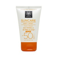 APIVITA SUNCARE FACE CREAM ANTI-SPOT TINTED SPF50 50ML