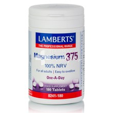 Lamberts Magnesium 375 One-A-Day - Μαγνήσιο, 180tabs