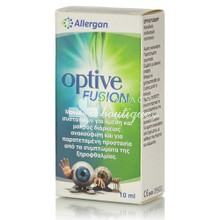 Allergan Optive Fusion Eye Drops - Ξηροφθαλμία, 10ml
