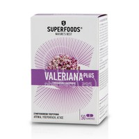 SUPERFOODS - VALERIANA PLUS 50caps