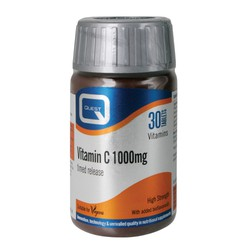 Quest VITAMIN C 1000mg TIMED RELEASE 30 tabs