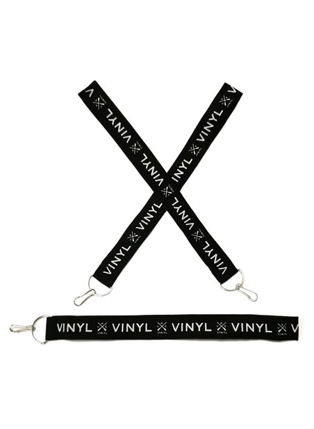 VINYL ART CLOTHING KEYRINGS 3 PACK