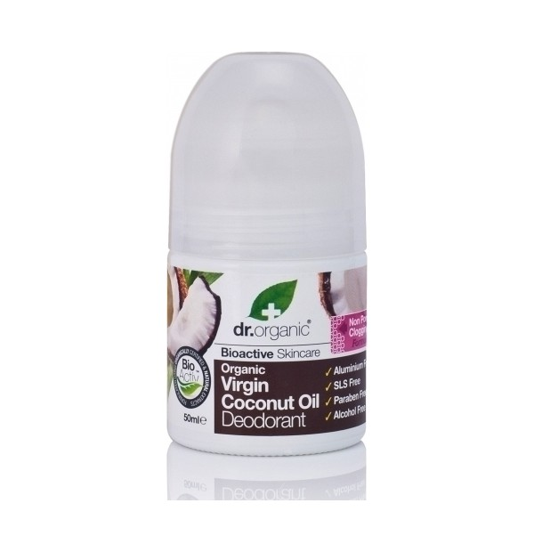 DR. ORGANIC COCONUT OIL DEODORANT 50ML