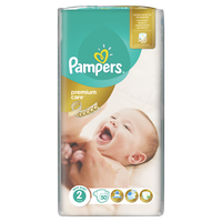 Pampers Premium Care No2 (Mini) 3-6 Κg 50 Πάνες