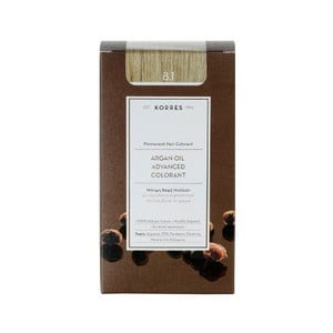 Korres argan oil no 8.1