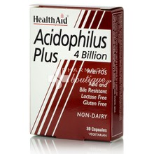 Health Aid ACIDOPHILUS PLUS 4 Billion, 30 caps