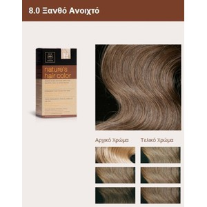 Apivita nature s hair color 8.0