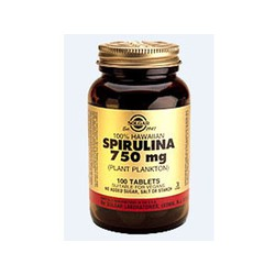 Solgar Spirulina 750mg 100 tablets
