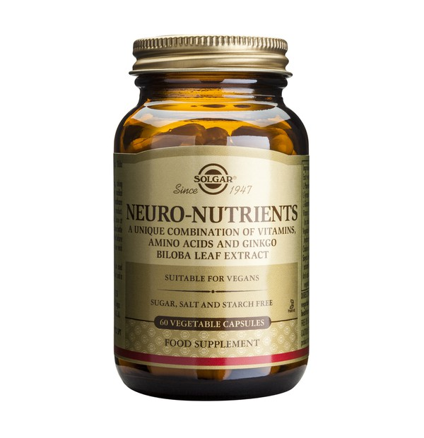 SOLGAR NEURO NUTRIENTS 60CAPS