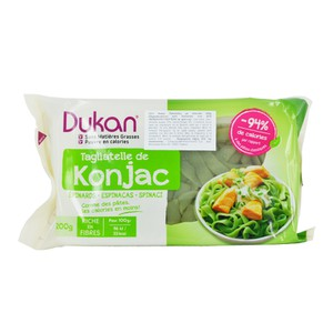 Dukan expert konjac tagliatelle with spinach  200 gr