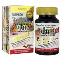 NATURE`S PLUS ANIMAL PARADE GOLD ASSORTED TABS 60