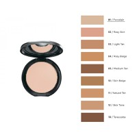 RADIANT PERFECT FINISH COMPACT FACE POWDER No1-PORCELAIN
