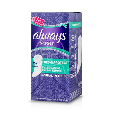 ALWAYS - DAILIES FRESH & PROTECT Normal - 30τεμ.
