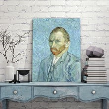 Self portrait van gogh