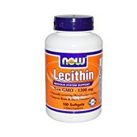 NOW LECITHIN 1200mg  100 SGELS