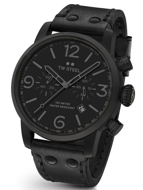 Maverick Black PVD Chronograph