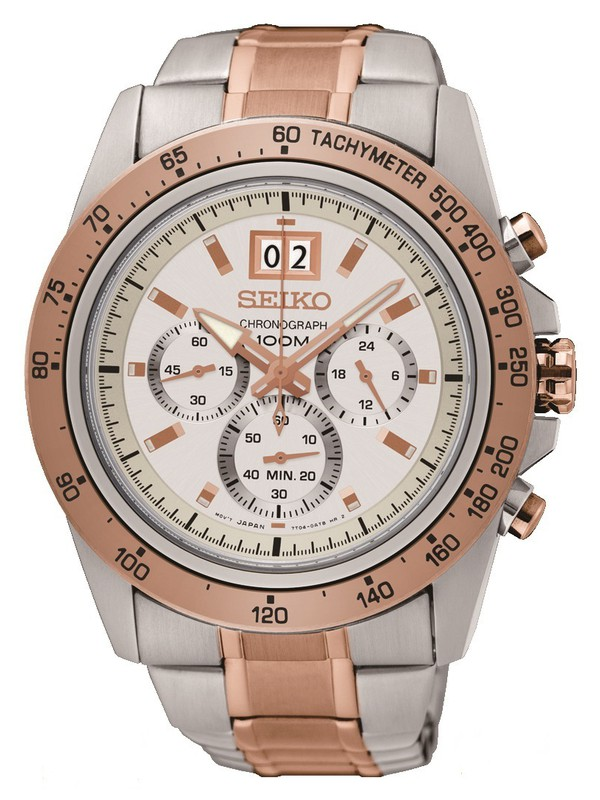 Quartz Two Tone Chronograph