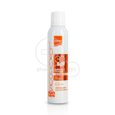INTERMED - LUXURIOUS SUN CARE Antioxidant Sunscreen Invisible Spray SPF30 - 200ml