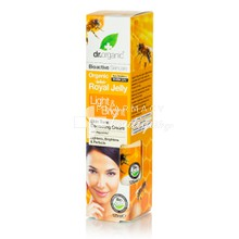 Dr.Organic Royal Jelly Light & Bright Ceam - Λευκαντική Κρέμα, 125ml