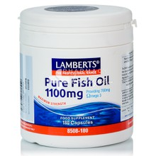 Lamberts PURE FISH OIL 1100 mg (Ω3), 180 caps