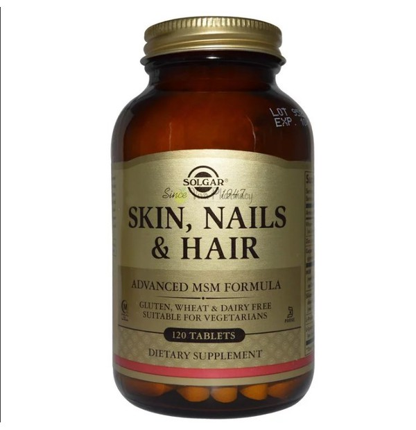SOLGAR SKIN NAILS AND HAIR FORM 120S