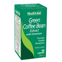 HEALTH AID GREEN COFFEE  BEAN 60VEG.CAPS
