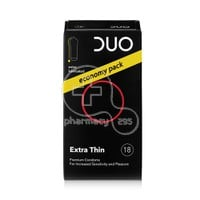 DUO - Προφυλακτικά Extra Thin Economy Pack - 18pacs