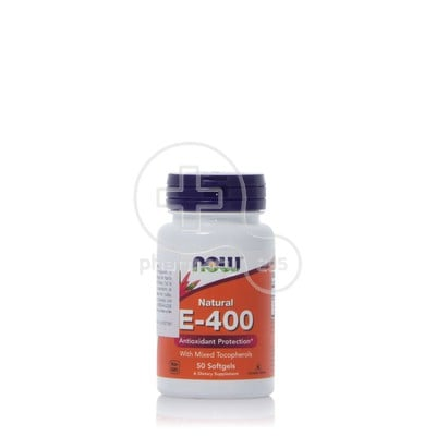 NOW - Natural E 400iu - 50softgels