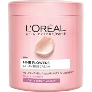 L oreal fine flowers cleansing cream