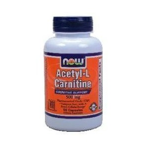 Now foods acetyl l carnitine 500 mg