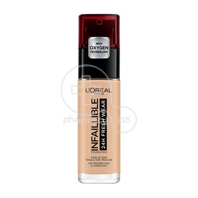 L'OREAL PARIS - INFALLIBLE 24h Fresh Wear Foundation No125 (Natural Rose) - 30ml