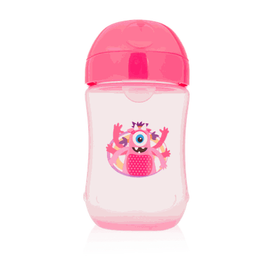 Toddler cup pink 9m   270ml