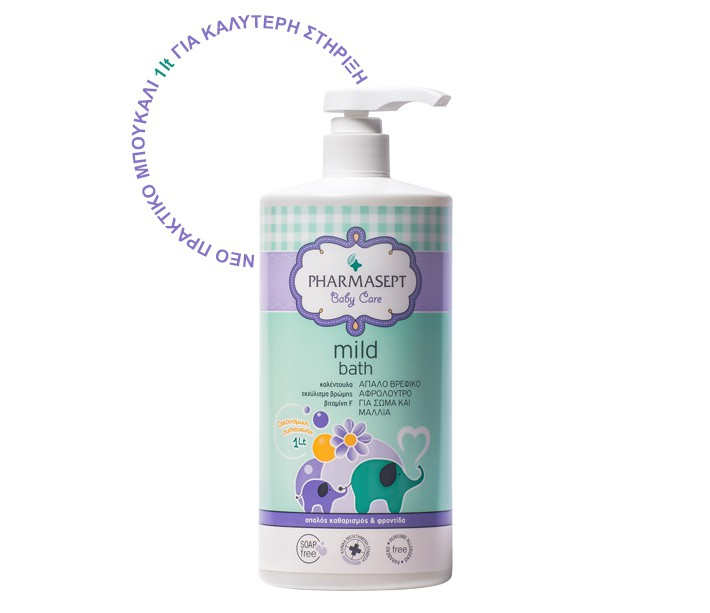 PHARMASEPT BABY MILD BATH 1000ML